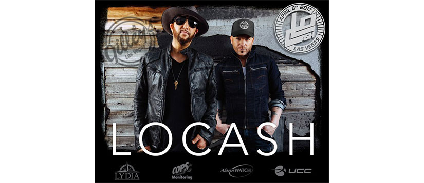 LOCASH performs live at The Best Party for Alarm Dealers at ISC West by COPS Monitoring