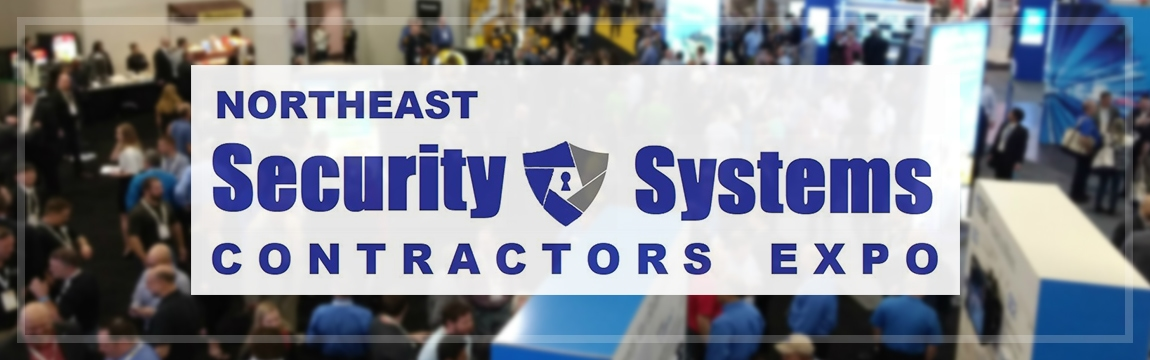 Northeast Security Systems Contactor Expo Event Header Logo, COPS Monitoring